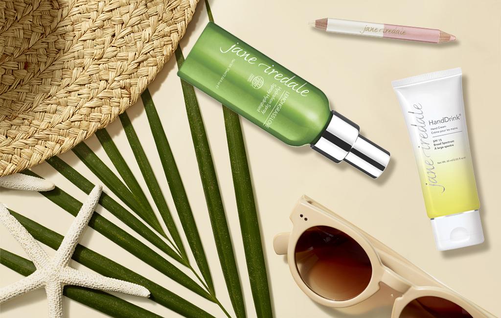 Kosmetik für die Reisetasche