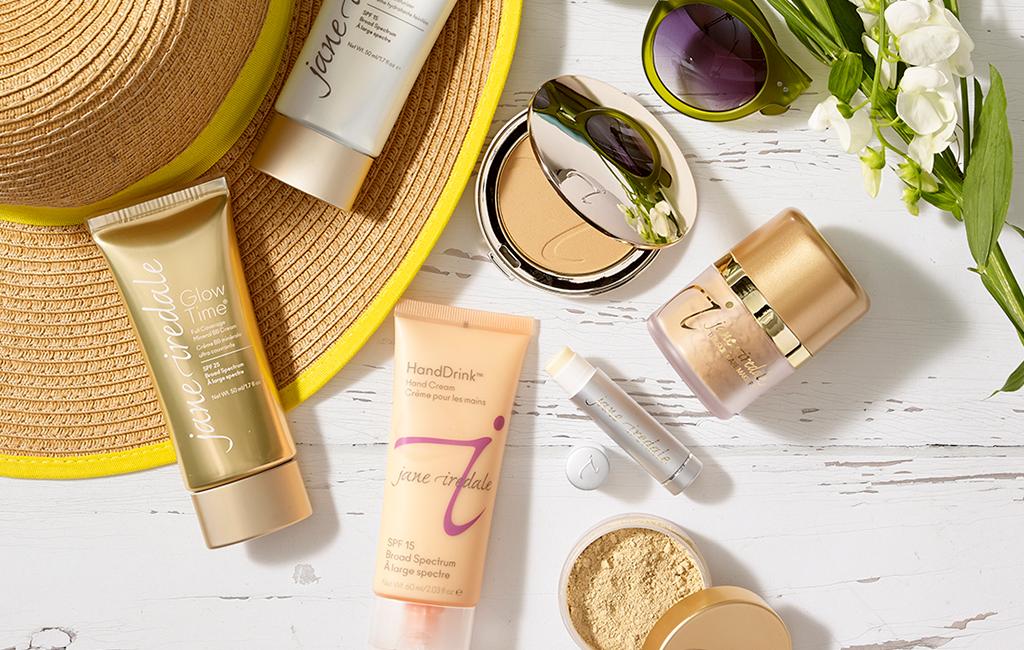 Make-up mit Sonnenschutz von jane iredale