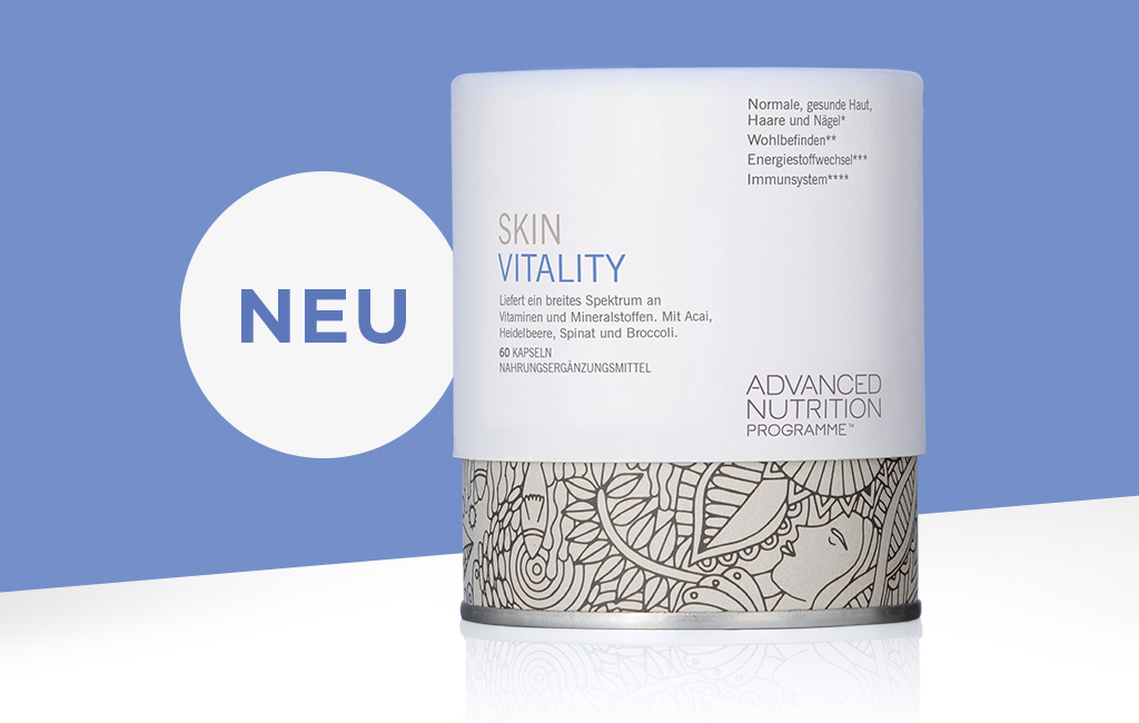 Skin Vitality - Nahrungsergänzung für eine gesunde Haut