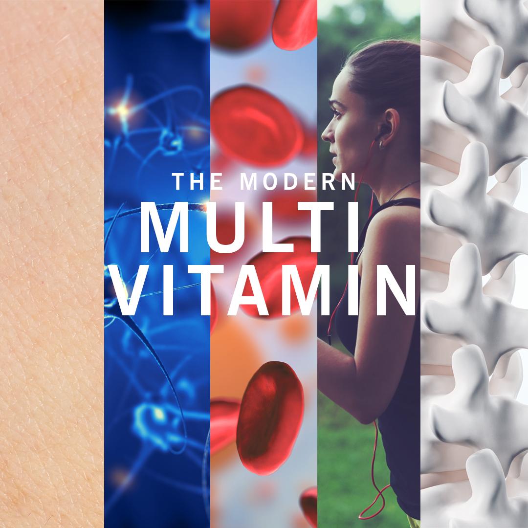Multivitamin für eine gesunde Haut