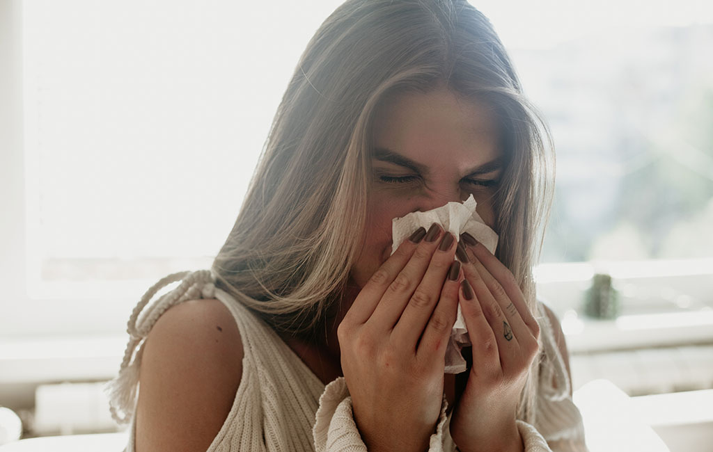 Pollenallergie Symptome kaschieren