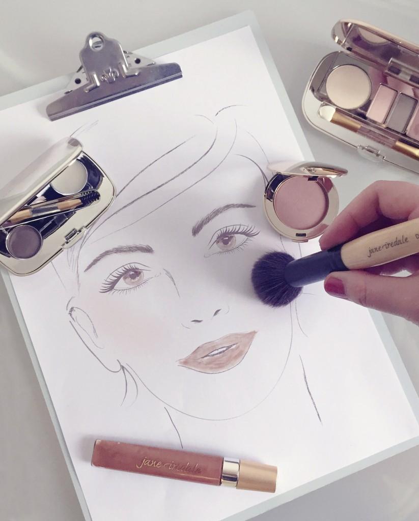 Perfekt geschminkt mit Mineral Make-up
