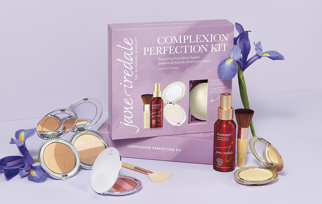 Jubiläumskollektion jane iredale THE SKINCARE MAKEUP