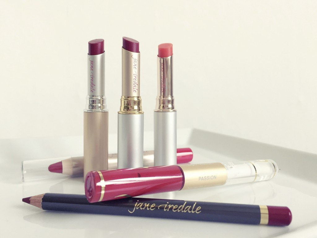 Rote Lippen jane iredale