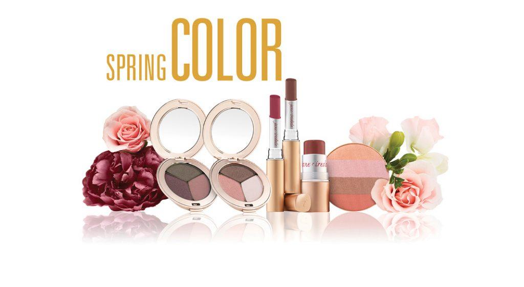Farben für den Frühling jane iredale